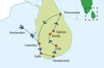 Afwisselend Sri Lanka - 14 dagen